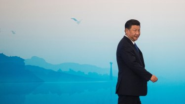 President Xi Jinping of China, the only nation that has the power to rein in North Korea.