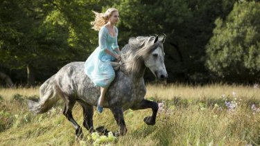 Cinderella has an independent streak, but it's coupled with a troubling capacity for suffering.