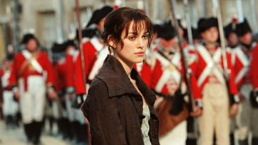'Keira Knightley was exactly the right age to play Elizabeth Bennet,' Susannah Fullerton writes, 'but she is perpetually Keira Knightley.'