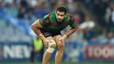 He's back: Greg Inglis has been named to play against the Sharks.
