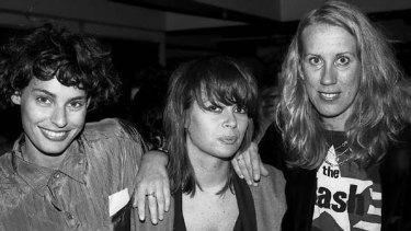 Deborah Conway, Chrissy Amphlett and Lindy Morrison c. 1988.