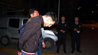 Turkish police detained three suspected Islamic State militants.