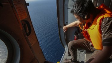 An air and sea search by Lithuanian authorities has failed to find any sign of the missing plane.