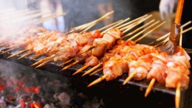 The skewers have been a favourite of foodies at events across the country.