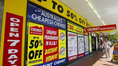 Read the fine print … chemists cannot discount co-payments.