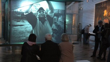 Visitors to the National Museum of the History of Immigration in Paris came to learn about the circumstances of immigration from North Africa.