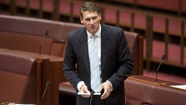 Controversial comments: Cory Bernardi.