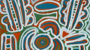 "Rosie Tasman, ""Seed Dreaming"" in ""Contemporary Visions of Aboriginal art"""