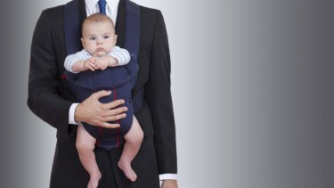 Employers should accommodate for stay-at-home dads.