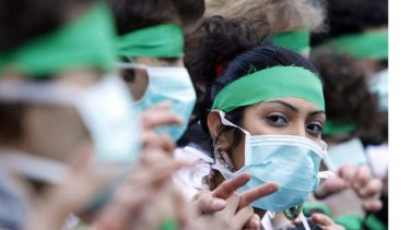 Twitter was a vital news tool for green demonstrators against the government during Iran's last election.