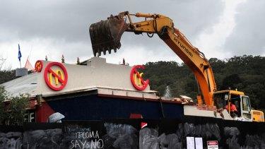 McDonald's in embroiled in a major PR war in Tecoma, Victoria.
