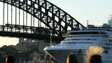 A record 6.1 million international visitors came to Australia last year, up 8 per cent from the prior year.