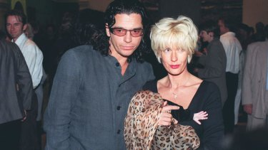 Trapped: Michael Hutchence with Paula Yates and their daughter Heavenly Hiraani Tiger Lily.