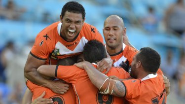 Five day turnaround: the Tigers back up against the Rabbitohs.
