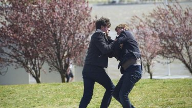 Canberra was the backdrop of ABC political thriller <i>The Code</i>.