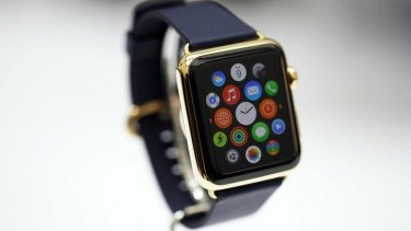 Delay: Apple Watch was launched this month but won't be on sale until next year.