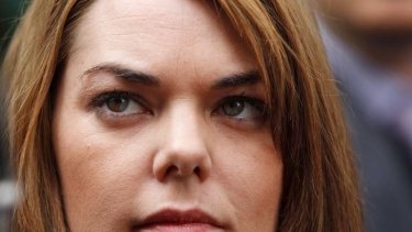 ''It doesn't embarrass me'' … Senator Sarah Hanson-Young is unrepentant about asking scripted questions.