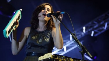 Triple J-discovered Missy Higgins was a notable absence from the list.