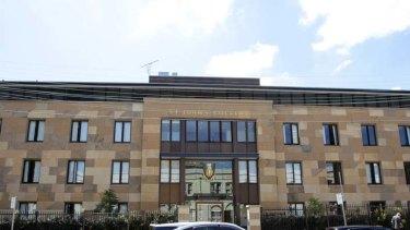 St John's College in Camperdown, Sydney.