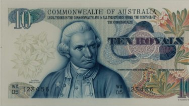 James Cook was to have been the face of the 10 royal note.