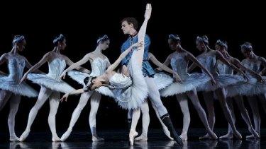Amber Scott and Adam Bull in the Australian Ballet's production of?Stephen Baynes'?<i>Swan Lake</i>.