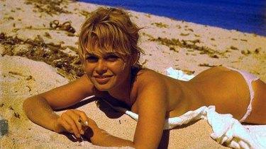 Doug's kinda surfer girl ... Brigitte Bardot.
