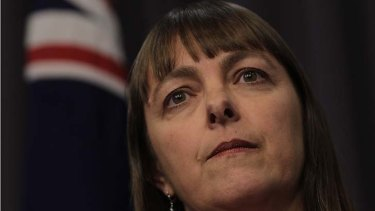 """Archived web ... touted as the measure of a police state. Above, Attorney-General Nicola Roxon, says """"the case as yet to be made""""."""
