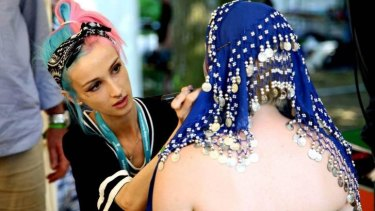Aussie Artist S Stunning Work At World Bodypainting Festival