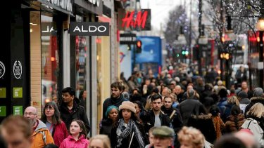 Oxford Street, London's shopping Mecca, is seeing enormous change as old habits are swept away by new technologies.