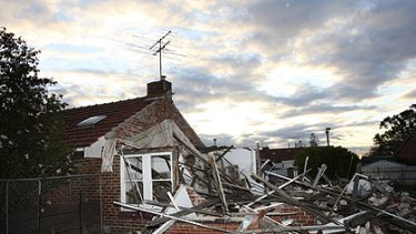 The Barak Road site in Port Melbourne after the home was illegally demolished last year.