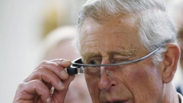Forget Google Glasses, Charlie – just pipe it all straight to your brain.