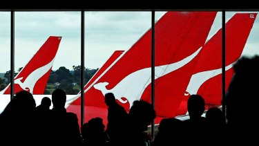 Qantas is looking to the non-stop route to set it apart from rival airlines such as Emirates and Etihad.