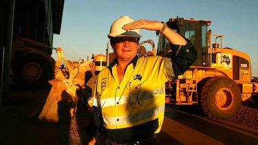 Fortescue founder Andrew Forrest. The company now expects to ship 127mt of iron ore in fiscal 2014.