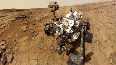 Computer glitch: NASA's Mars rover Curiosity.