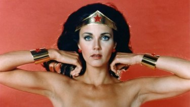 Lynda Carter, the original Wonder Woman.