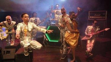 Taman Budaya Yogyakarta, the Astra Choir, science fiction and an enslaved gamelan come together on stage.