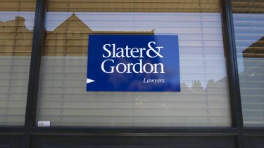 "Slater & Gordon has reached an ""in-principle"" settlement with class action law firm Maurice Blackburn."