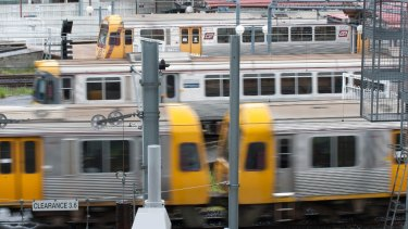 Brisbane's rail network faces congestion issues as the city's population grows.
