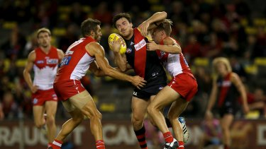 "Hibberd said he felt like he was only ""plodding along"" near the end of his Bombers stint."