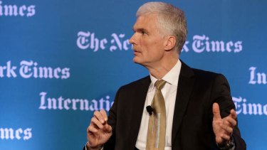 Andreas Schleicher at The Next New World Forum in Singapore in October.