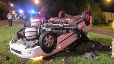 Yes, the driver was rolling drunk.
