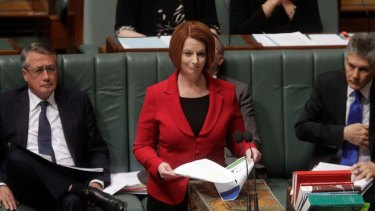 Ms Gillard was yesterday calling ministers to tell them of her plans and the reshuffle.