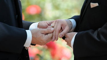 Gay marriage capital? ACT Labor could follow Tasmania's lead on same-sex marriage.