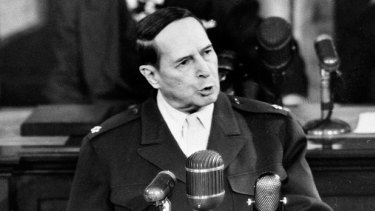 Commuted five death sentences linked to war crime ... Army General Douglas MacArthur.