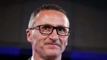 Greens leader Richard Di Natale's motion to relax medicinal cannabis rules passed 40 votes to 30.