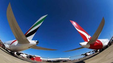Closer than ever: Emirates and Qantas.