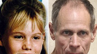 Catalogue of mistakes ... Jaycee Dugard, pictured left before she was taken, and right, Phillip Garrido, who is accused of her kidnap.