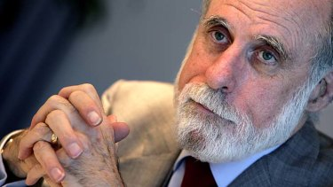 """We need to prevent a fundamental shift in how the internet is governed"" ... Vint Cerf."
