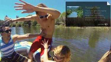 Field Trip on Google Glass.