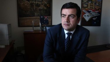 """I am perplexed as to why I am such a significant figure in your life"" ... Sam Dastyari, 28, Labor's general secretary, wrote in a letter to Adrian Piccoli."